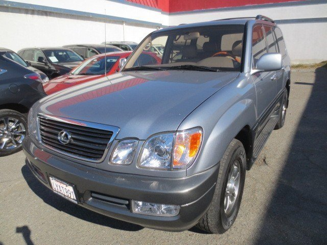 2002 Lexus LX 470 Blue Vapor MetallicIvory V8 47L Automatic 113264 miles LOCAL TRADE LOW MILE