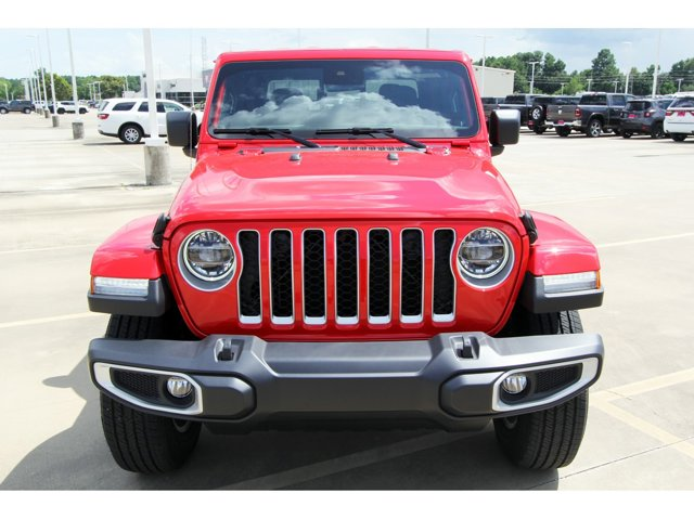 2020 Jeep Gladiator Overland Firecracker Red ClearcoatBlack V6 36 L Automatic 9 miles 2020 Jee