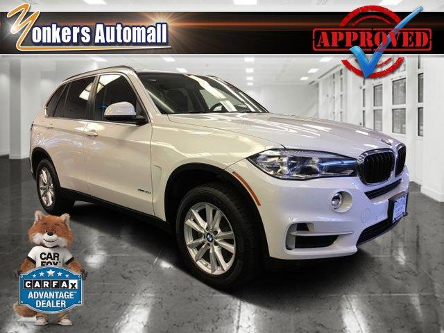 2015 BMW X5 xDrive35i Alpine WhiteBlack V6 30 L Automatic 32621 miles 1 owner clean carfax