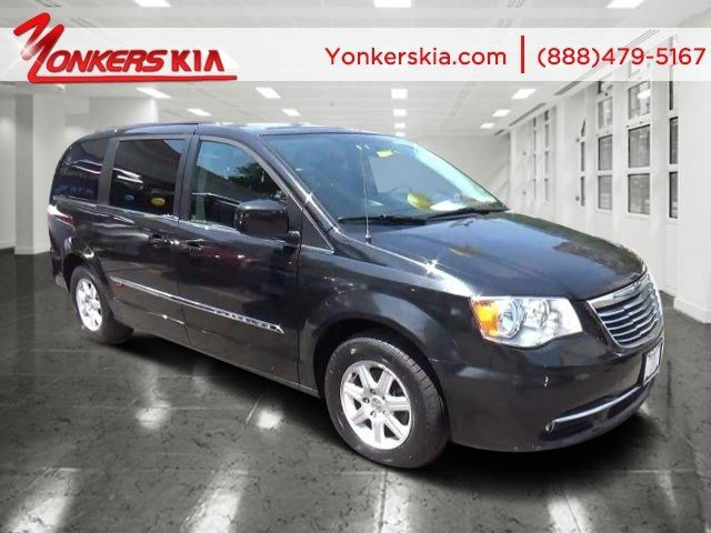 2012 Chrysler Town  Country Touring BlackBlackLight Graystone Interior V6 36L Automatic 5375