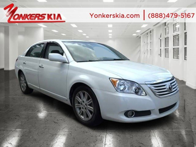 2008 Toyota Avalon Limited Blizzard PearlLt Gray V6 35L Automatic 114498 miles Clean carfax