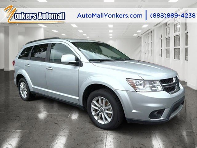 2014 Dodge Journey SXT Bright Silver Metallic ClearcoatBlack V6 36 L Automatic 34859 miles 1