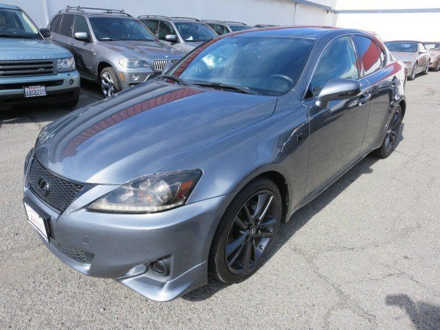 2012 Lexus IS 250 Nebula Gray PearlBlack V6 25L Automatic 49379 miles NEW ARRIVAL A MUST SEE