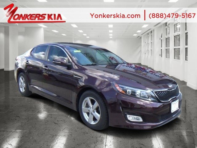2014 Kia Optima LX Remington Red MetallicBeige V4 24 L Automatic 36359 miles Lavishly luxurio