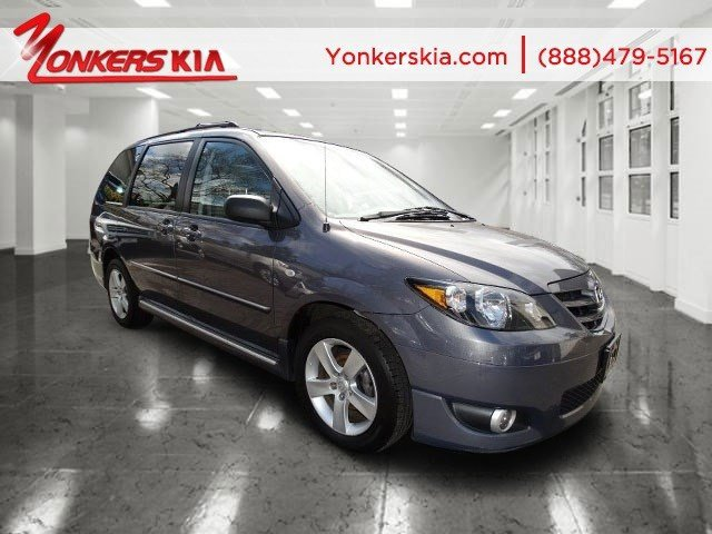 2006 Mazda MPV ES Strato Blue MicaGray V6 30L Automatic 91914 miles 3rd row seats leather s