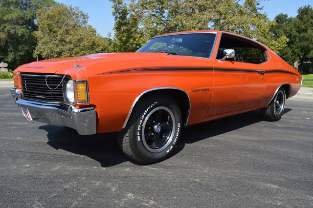 1972 Chevrolet Chevelle Heavy Chevy Orange FlameBlack V8  Automatic 0 miles Simply stunning 19