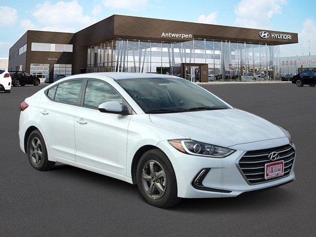 2017 Hyundai Elantra ECO Quartz White PearlGray V4 14 L Automatic 0 miles  CF  CT  FK  LJ