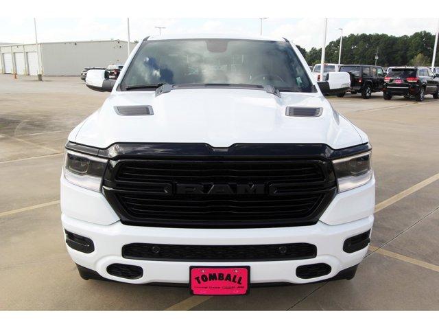 2020 Ram 1500 Laramie Bright White ClearcoatBlack V8 57 L Automatic 9 miles