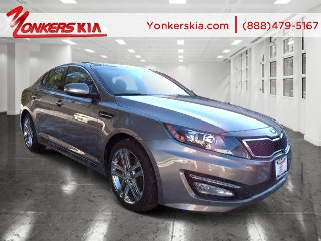 2013 Kia Optima SX wChrome Limited Pkg GrayBlack V4 20L Automatic 7947 miles 1 owner clean
