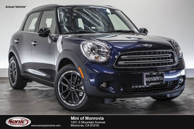 2016 MINI Cooper Countryman FWD 4dr Cosmic Blue MetallicCarbon Black V4 16 L Automatic 0 miles