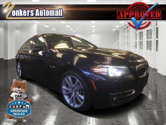 2014 BMW 5 Series 535i xDrive Imperial Blue MetallicTan V6 30 L Automatic 44972 miles Navigat