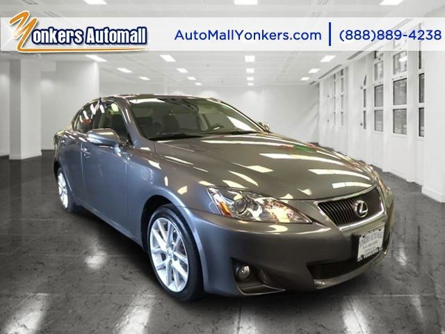 2012 Lexus IS 250 wNavigation Nebula Gray PearlBlack V6 25L Automatic 26605 miles 1 owner cl