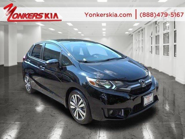 2015 Honda Fit EX-L Crystal Black PearlBlack V4 15 L Variable 8312 miles Navigation Yonkers
