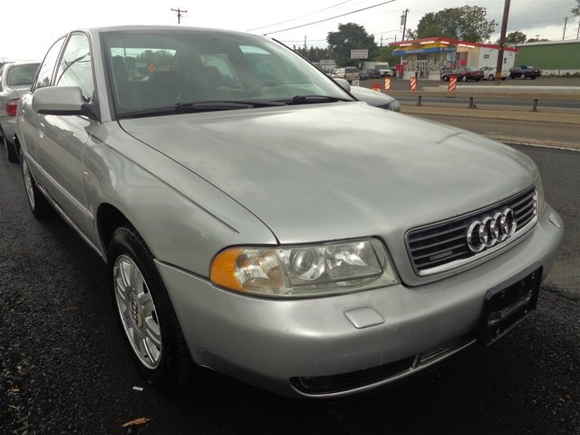 2000 Audi A4 18T QUATTRO AWD Light SilverOpal Gray V4 18L Automatic 172564 miles  Turbocharg