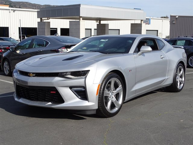 2017 Chevrolet Camaro SS Silver Ice MetallicAdrenaline Red V8 62L Automatic 0 miles  REMOTE V
