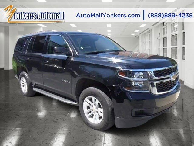 2015 Chevrolet Tahoe LT BlackJet Black V8 53L Automatic 46336 miles Lavishly luxurious this