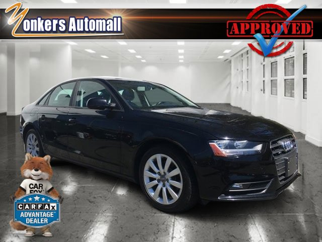 2013 Audi A4 Premium Phantom Black PearlBlack V4 20L Automatic 39902 miles Racy yet refined