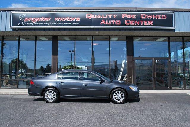 2011 Buick Lucerne CXL Cyber Gray Metallic V6 39L Automatic 70046 miles  Multi-Zone AC  Uni