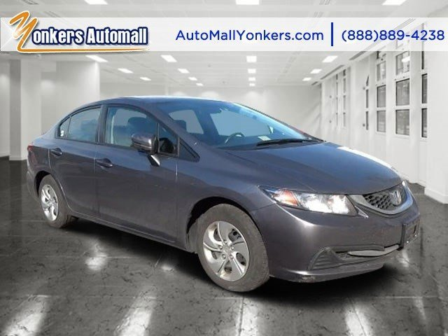 2014 Honda Civic Sedan LX Urban Titanium MetallicBlack V4 18 L Variable 34262 miles This Hond