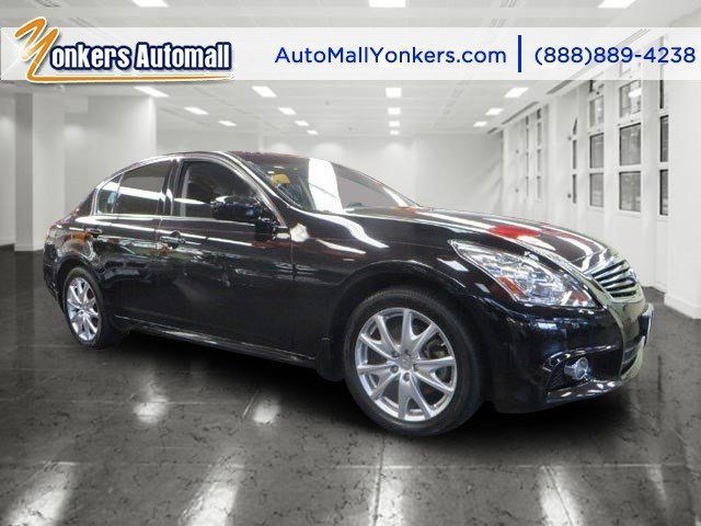 2012 Infiniti G37 Sedan  V6 37L Automatic 40333 miles 1 owner clean carfax AWD NAVIGATION