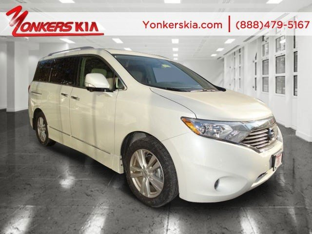 2014 Nissan Quest LE White PearlGray V6 35 L Variable 1765 miles Fully loaded 2014 Nissan Que