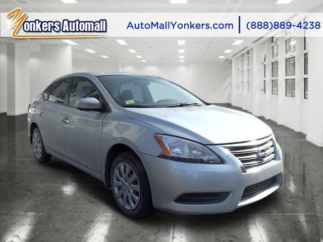 2014 Nissan Sentra SV Brilliant SilverCharcoal V4 18 L Automatic 20741 miles 1 owner clean c