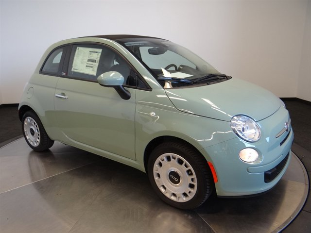 2016 FIAT 500c Pop Verde Chiaro Light GreenA7X9 V4 14 L Automatic 4 miles  22A EAB DF1 PGA