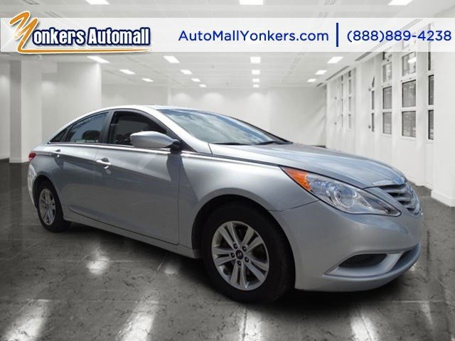 2013 Hyundai Sonata Radiant SilverGray V4 24L Automatic 37676 miles Yonkers Auto Mall is the