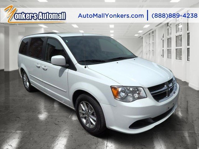 2014 Dodge Grand Caravan SXT Bright White ClearcoatBlackSandstorm V6 36 L Automatic 39898 mil