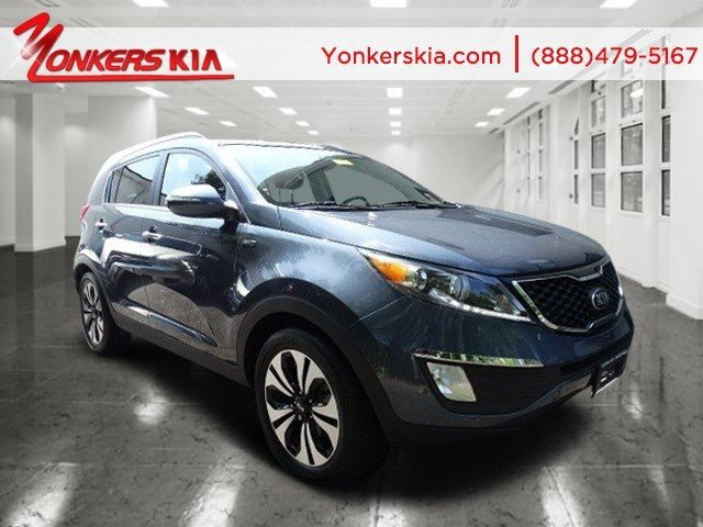 2013 Kia Sportage SX Twilight BlueBlack V4 20L Automatic 10568 miles 1 owner clean carfax