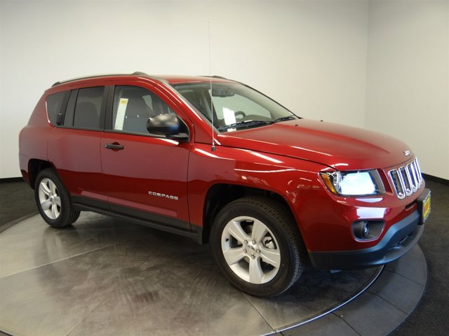 2017 Jeep Compass Sport Deep Cherry Red Crystal PearlcoatC7dv V4 20 L Variable 5 miles Buy it