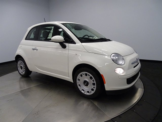 2016 FIAT 500 Pop Pw3 Bianco WhiteA7X9 V4 14 L Manual 4 miles FIAT 500 POP HATCHBACK Front