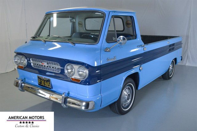 1964 Chevrolet Corvair Rampside Pickup BlueBlue V  Manual 99813 miles American Motors Custom a