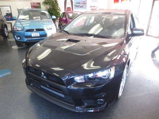 2014 Mitsubishi Lancer Evolution GSR Phantom BlackBlack V4 20 L Manual 5 miles All New 2014 La