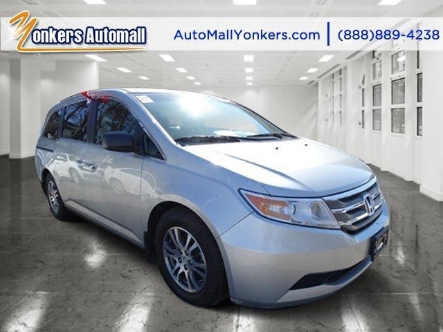 2012 Honda Odyssey EX Alabaster Silver MetallicGray V6 35L Automatic 44484 miles Yonkers Auto