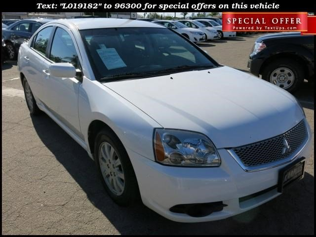 2012 Mitsubishi Galant FE White Pearl V4 24L Automatic 68190 miles Deal PendingChoose from