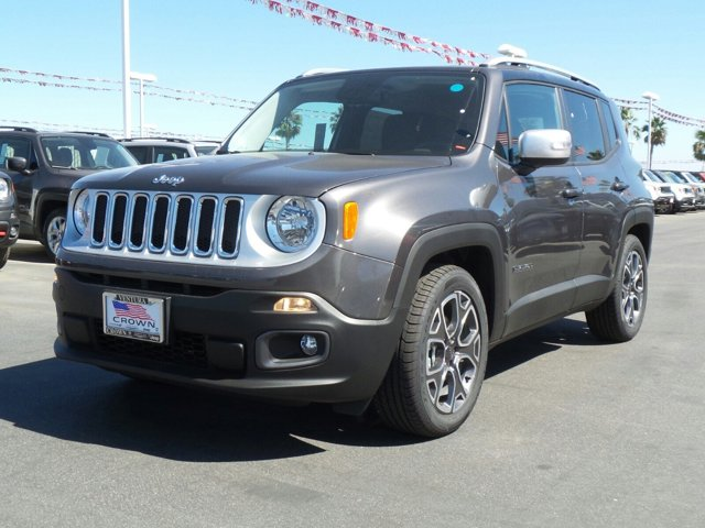 2016 Jeep Renegade Limited Granite Crystal Metallic ClearcoatBlack V4 24 L Automatic 0 miles