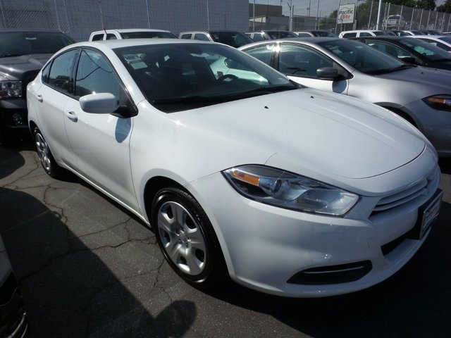 2015 Dodge Dart SE WhiteCLOTH V4 20 L Automatic 657 miles  Front Wheel Drive  Power Steering