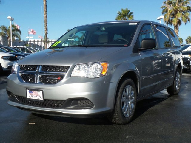 2017 Dodge Grand Caravan SE Billet ClearcoatBlackLight Graystone V6 36 L Automatic 0 miles
