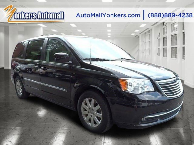 2014 Chrysler Town  Country Touring Maximum Steel Metallic ClearcoatBlackLight Graystone V6 3