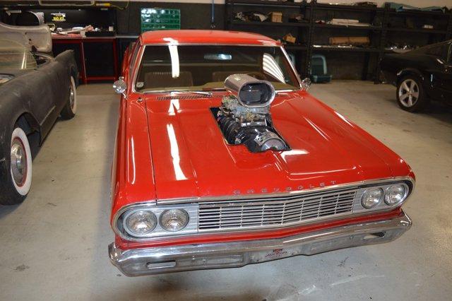 1964 Chevrolet El Camino Pro Street RedTan V  Manual 0 miles 1964 El Camino True Console 4 spe