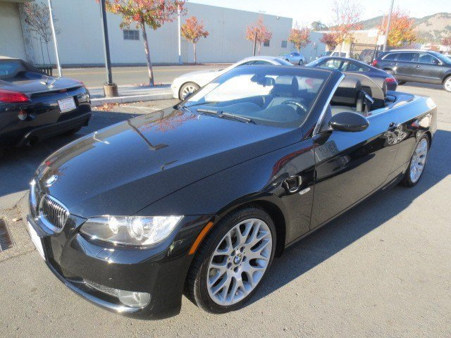 2008 BMW 3 Series 328i Convertible Jet BlackBlack V6 30L Automatic 84705 miles LOCAL CAR CPO