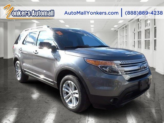2013 Ford Explorer XLT Sterling Gray MetallicCharcoal Black V6 35L Automatic 34338 miles 1 ow