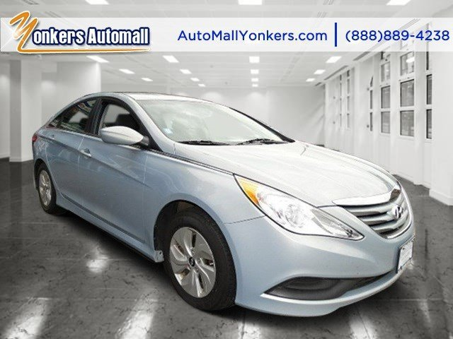 2014 Hyundai Sonata GLS Pacific Blue PearlGray V4 24 L Automatic 37659 miles 1 owner clean c