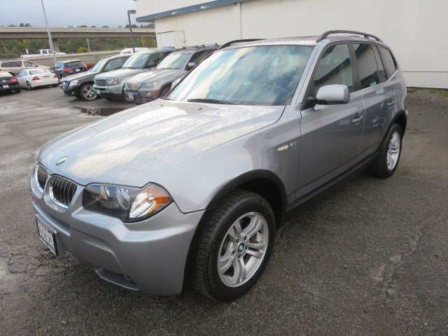 2006 BMW X3 30i Silver Gray MetallicBlack V6 30L Automatic 60308 miles 1-OWNER LOW MILES