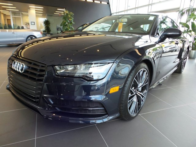 2016 Audi A7 30 TDI Premium Plus Moonlight Blue MetallicATLAS BGEDK CARPET LTHR V6 30 L Autom