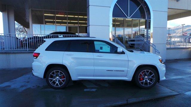 2017 Jeep Grand Cherokee SRT Ivory 3-CoatBlack V8 64 L Automatic 12 miles  DUAL-PANE PANORAMI