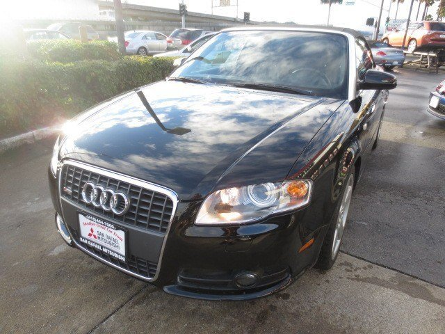 2008 Audi A4 Convertible 20T Brilliant BlackBlack V4 20L Automatic 75625 miles NEW ARRIVAL B