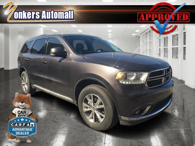 2016 Dodge Durango Limited Granite Crystal Metallic ClearcoatBlack V6 36 L Automatic 26163 mil