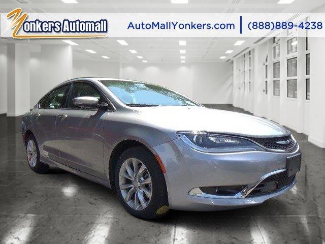 2015 Chrysler 200 C Billet Silver Metallic ClearcoatBlack V4 24 L Automatic 41204 miles Elega
